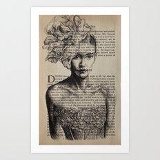 Pride & Prejudice, Chapter XIV Art Print