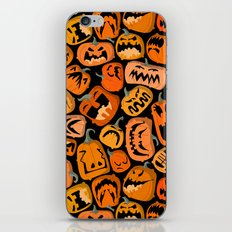 Pumpkin Brawl. iPhone & iPod Skin