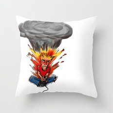 Intense Gamer Throw Pillow