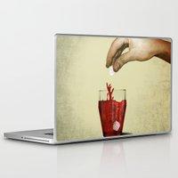 tea Laptop & iPad Skins featuring Tea by gazonula