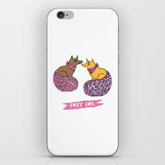 FOXY FOX  iPhone & iPod Skin