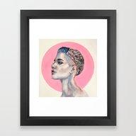 Framed Art Print featuring The Badlands by Ava Carmen
