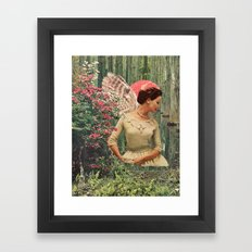 The Echo Sisters Diptych Panel 1 Framed Art Print