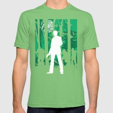 Alan Wake Mens Fitted Tee Grass SMALL