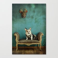 The Deer Hunter Canvas Print