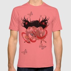 Doll Sunkissed Bipolar Love  Mens Fitted Tee Pomegranate SMALL