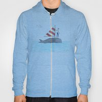set sail on a whale Hoody