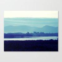 Ireland Blue Canvas Print