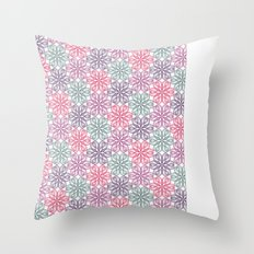 PAISLEYSCOPE tile Throw Pillow