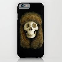 iPhone & iPod Case featuring Northern Skull by Phil Jones