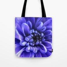 Macro Blue Tote Bag