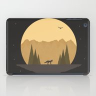 The Fox Under The Stars iPad Case