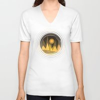 Textures/Abstract 85 Unisex V-Neck