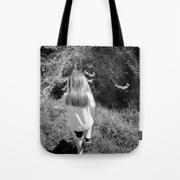 Pickin' Flowers In The S… Tote Bag