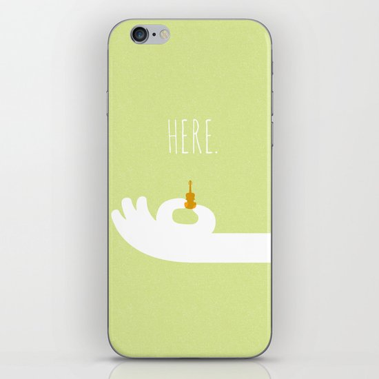 World's Smallest Violin iPhone & iPod Skin