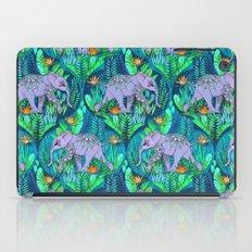 Little Elephant on a Jungle Adventure iPad Case
