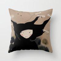 Mister Wind Throw Pillow