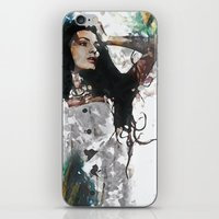 Wonder Abstract Portrait iPhone & iPod Skin