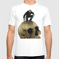 Leroy And The Giant's Gi… Mens Fitted Tee White SMALL