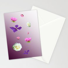 Blooming sky Stationery Cards