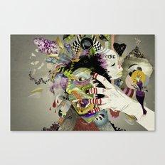 Aggro Canvas Print