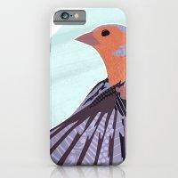 Chaffinch In Flight iPhone 6 Slim Case