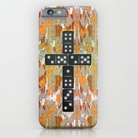 iPhone & iPod Case featuring Holy Domino.0.2 by Galvanise The Dog
