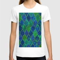 glitter T-shirts featuring Glitter Moroccan by Saundra Myles