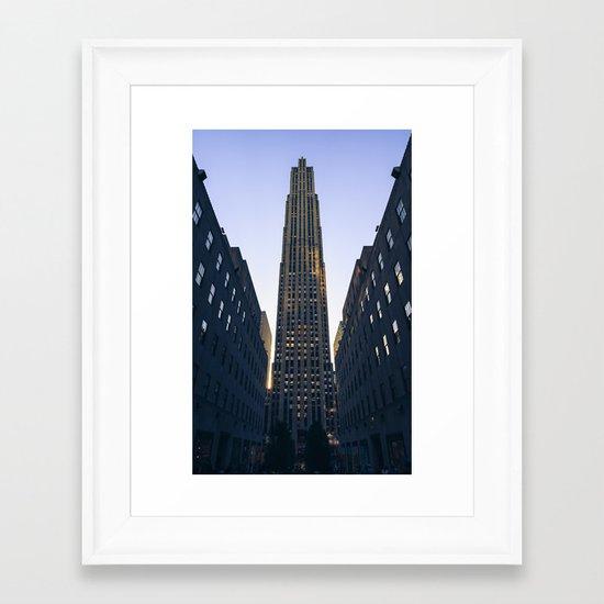 Rockefeller Framed Art Print