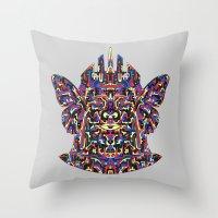 Dimensional Traveller Throw Pillow