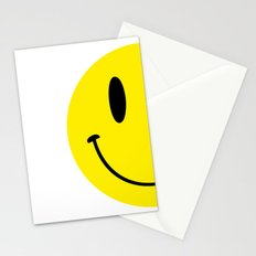 Half Smile (Right) Stationery Cards