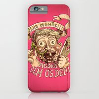 iPhone Cases featuring Garbage Pale Kid - Olha mamãe! Sem os dentes by Arthur d'Araujo