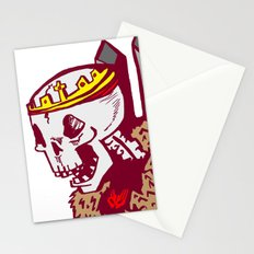 You win or you die Stationery Cards
