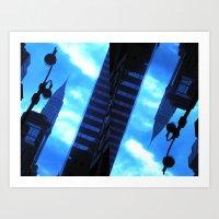 Blue Dream Art Print
