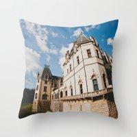 Biltmore Under Blue Skie… Throw Pillow