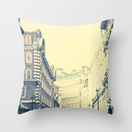 When New Meets Old  Throw Pillow
