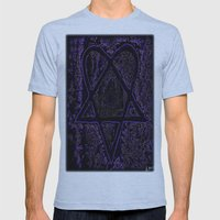 Nightmare Heartagram Mens Fitted Tee Athletic Blue SMALL