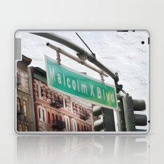 Malcom X Blvd Laptop & iPad Skin