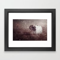 Harsh Conditions Framed Art Print