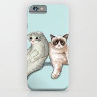 Grumpy Friend iPhone 6 Slim Case