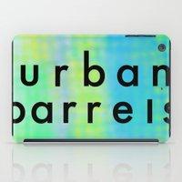 Urban Barrel Type iPad Case