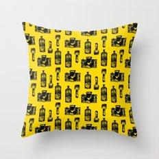 Urban Elements Throw Pillow
