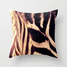 Zazu the Zebra Throw Pillow