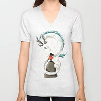 Dragon Spirit Unisex V-Neck