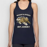 What a Piece of Junk! Unisex Tank Top