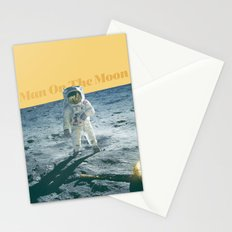 Man On The Moon Stationery Cards