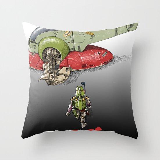 BobAkira  Throw Pillow