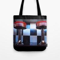 Stools Americana Tote Bag
