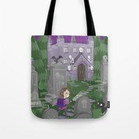 Exploring The Graveyard Tote Bag