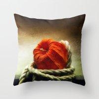 Tangled Season Throw Pillow